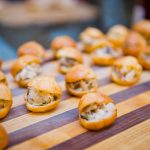 Mixed Mushroom Choux Pastries with Truffle Oil