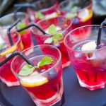 Fruit-infused Mini Cocktails