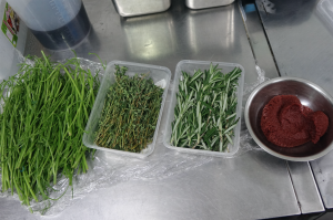 Rosemary, thyme, parsley stalks & tomato paste